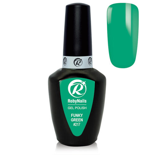 Gel Polish 217 Funky Green Roby Nails 8 ml