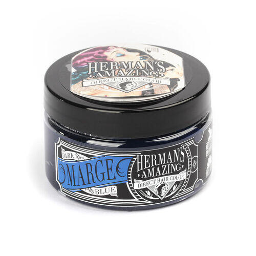 Colore per Capelli Semipermanente HERMAN S Marge Blue 115 ml
