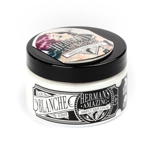 Colore per Capelli Semipermanente HERMAN S Blanche 115 ml