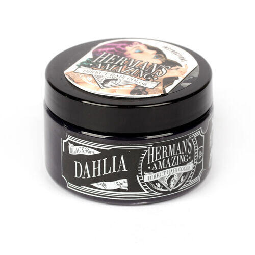 Colore per Capelli Semipermanente HERMAN S Black Dahlia  115 ml