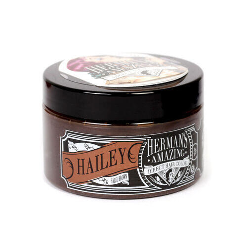 Colore per Capelli Semipermanente HERMAN S Hailey Hazel Brown 115 ml