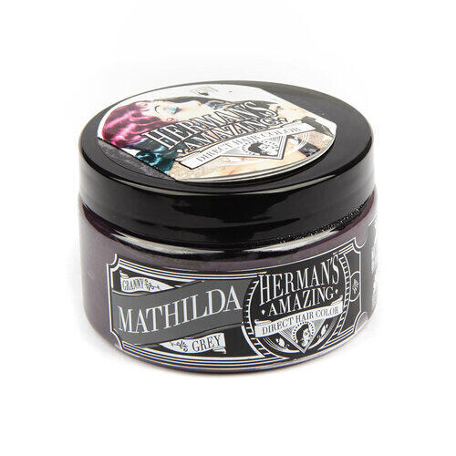 Colore per Capelli Semipermanente HERMAN S Mathilda Grey 115 ml