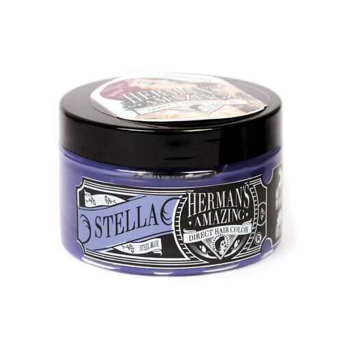 Colore per Capelli Semipermanente HERMAN S Stella Steel Blue 115 ml