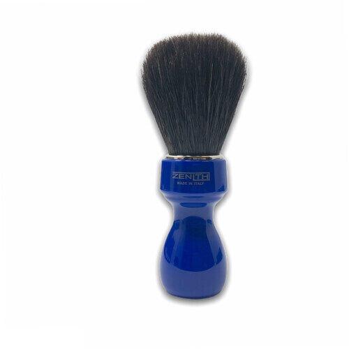 Pennello Barba Manico Blu Genziana Ciuffo Cavallo Soft Zenith 507BG PP21