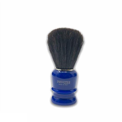 Pennello Barba Manico Blu Genziana Cavallo Soft Zenith 508BG PP21