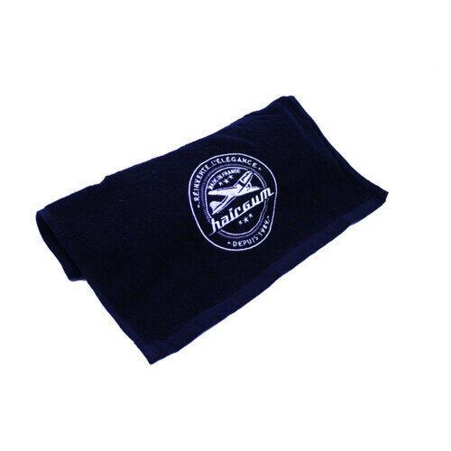 Asciugamano Nero in Cotone Hairgum