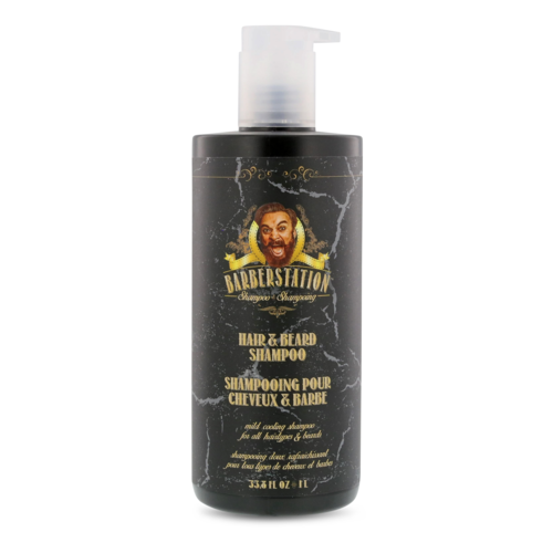 Shampoo Barba e Capelli Hair e Beard Shampoo The Barberstation 1000 ml