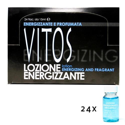 Lozione Energizzante per Capelli Uomo Vitos sc. 24 fiale da 15 ml