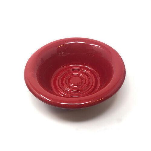 Ciotola in Ceramica per Saponata Le Birichine Rossa