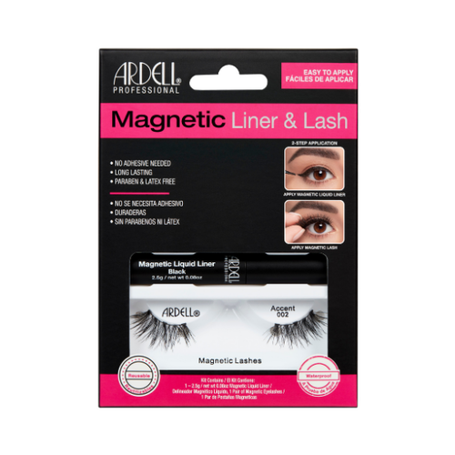 Ciglia Magnetiche + Eyeliner Magnetico Ardell Accent 002