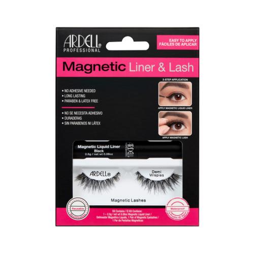 Ciglia Magnetiche + Eyeliner Magnetico Ardell Demi Wispies