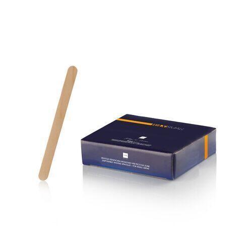 Spatola Legno Stendicera Stretta Wax Small 11 cm 100 pz Lab
