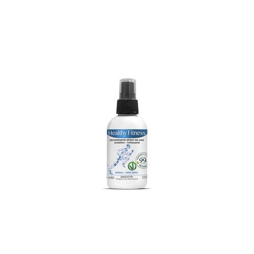 Deodorante Spray No Gas Antibatterico Uomo Healthy Fitness Amovita 100ml