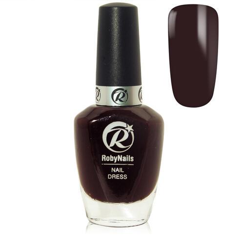 Smalto per Unghie Nail Dress Dark Rouge 10 ml Roby