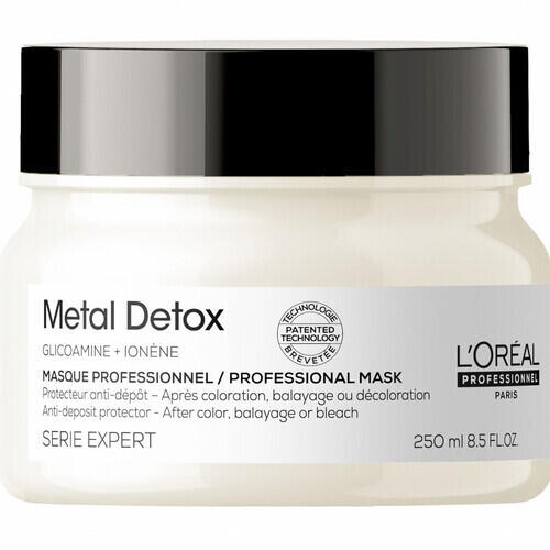 Maschera Metal Detox Serie Expert L Oreal 250 ml New