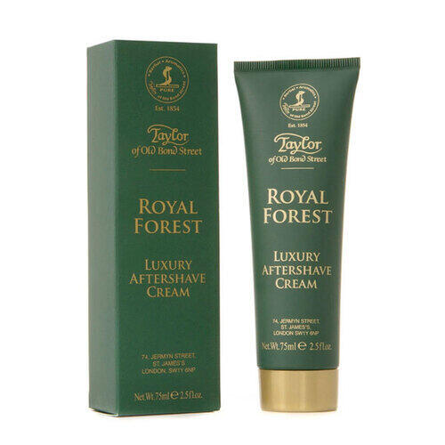 After Shave Cream Luxury Royal Forest Taylor 75 ml