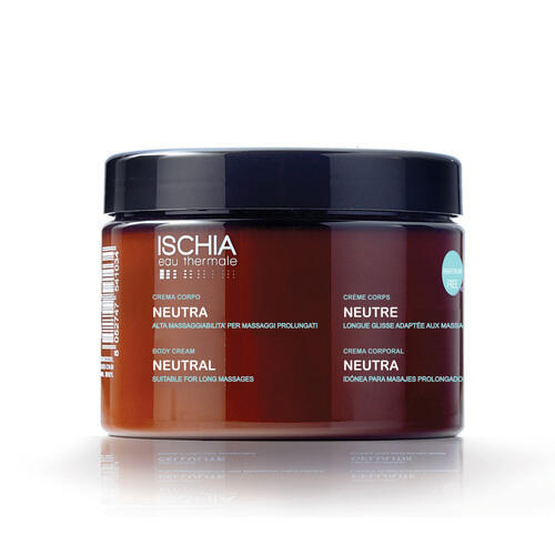 Crema da Massaggio Neutra 500 ml Ischia Eau Thermale