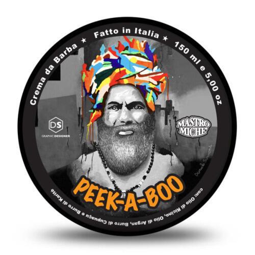 Sapone da Barba Mastro Miche  Peek A Boo 150 ml